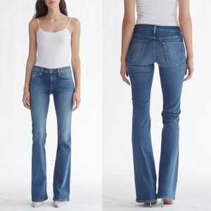 Midrise Bootcut Jeans by Hudson